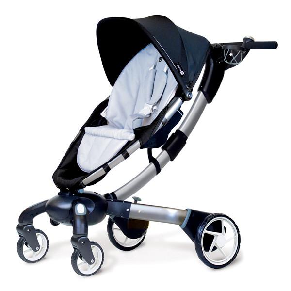 まさにトランスフォーマー!電動折りたたみベビーカー『4moms stroller』
