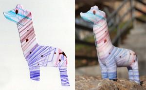 こどもの絵が3Dに!『CrayonCreatures』
