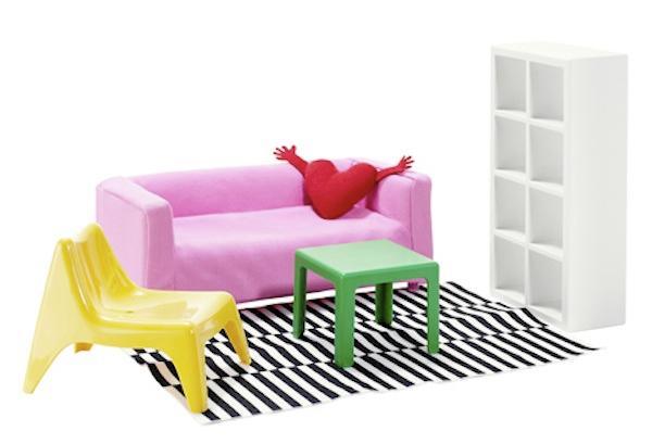 IKEAがドールハウス向けの家具『Huset』を発売