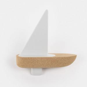 お風呂あそびが楽しくなるコルクのヨット