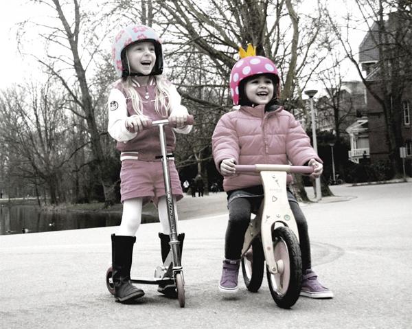 カスタマイズできるキッズ用ヘルメット『EGG helmets』