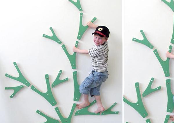 室内用のクライミングツリー(ウォール)