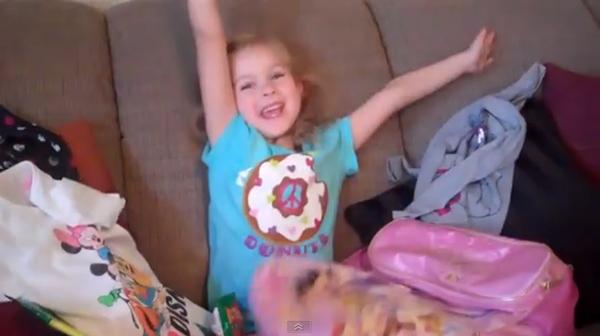 サプライズプレゼントはディズニーランド!?『Lily's Disneyland Surprise! 』