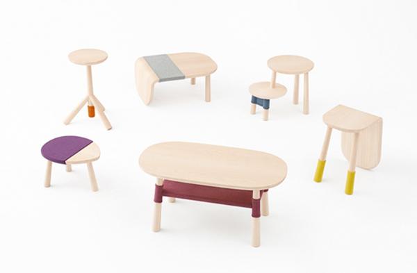 nendoとディズニーのコラボ家具『くまのプーさんとその仲間たち pooh-table』