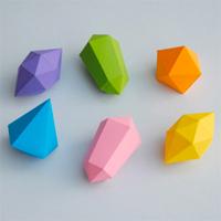 紙でつくるかわいい宝石『Paper gems』