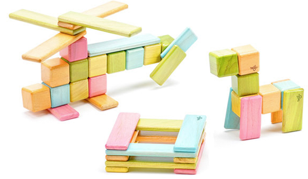 どんなカタチも自由自在!マグネット積み木『Tegu Blocks』